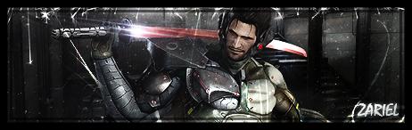 Banner Metal Gear Rising - Sam by Z4RIEL