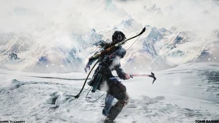 Wallpaper - Tomb Raider Lara Croft by Z4RIEL