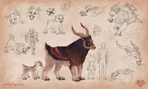 Coat-creature sheet