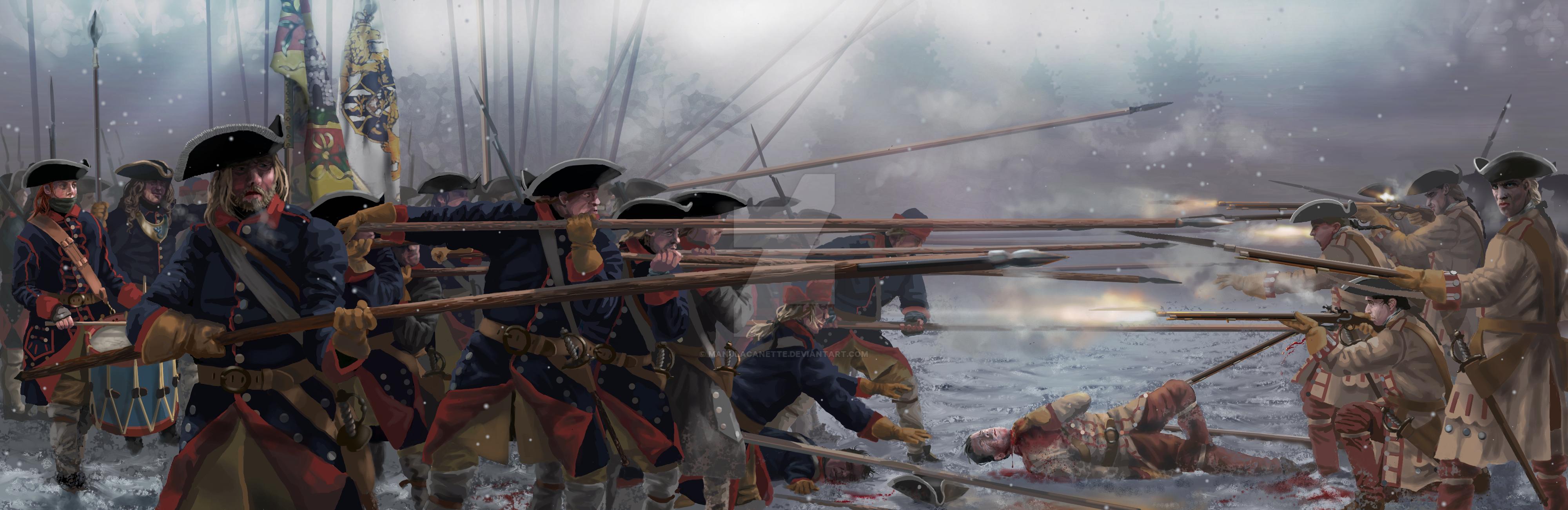 Battle of Helsingborg (1710) - Jonkoping Regemente by ManuLaCanette