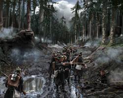 Baden infantry ambushed by ManuLaCanette