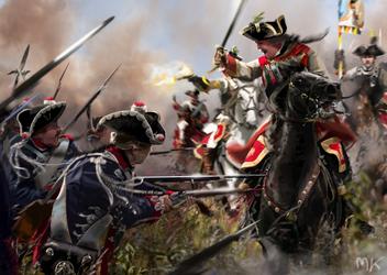 Battle Of Kolin (June 18, 1757) by ManuLaCanette
