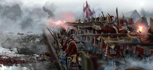 Danish Grenadiers Corps at Helsingborg (1710)