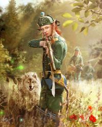 Elven Ranger by ManuLaCanette