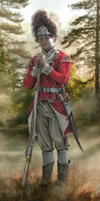 Grenadier of the 40th Foot (Halifax, Spring 1776)