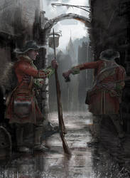 Two Sentries