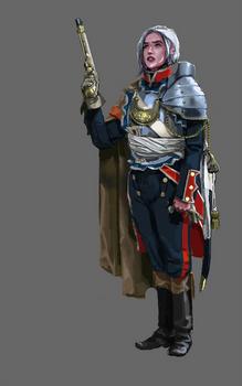 Fantasy - Marine Officer (female alternative)