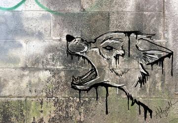 Graffiti Snarl by Marcynuk