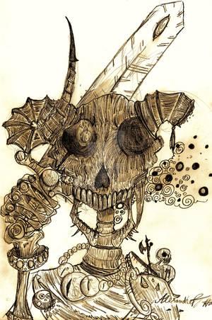 General Black-bone by Dettan-arts