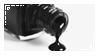 black nail polish stamp by black--crown