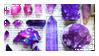 crystals by black--crown