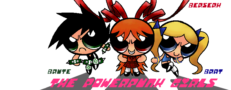 The Powerpunk Girls by Hopemaydie