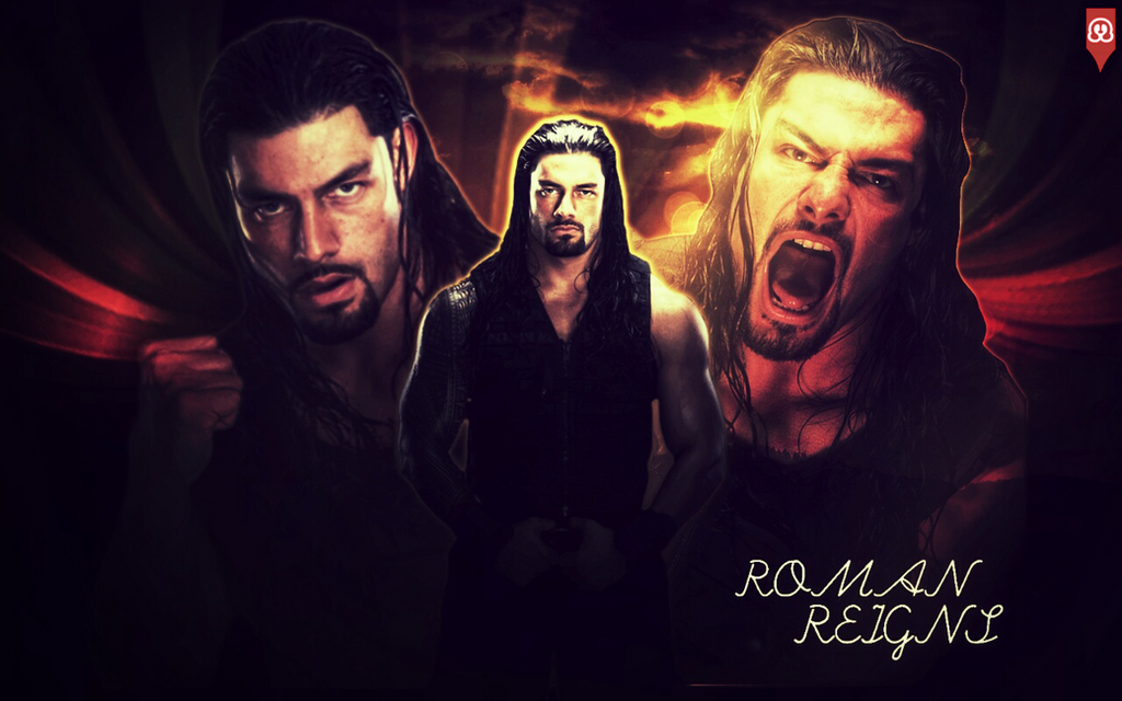 Roman Reigns - Wallpaper by MhmdAo on DeviantArt