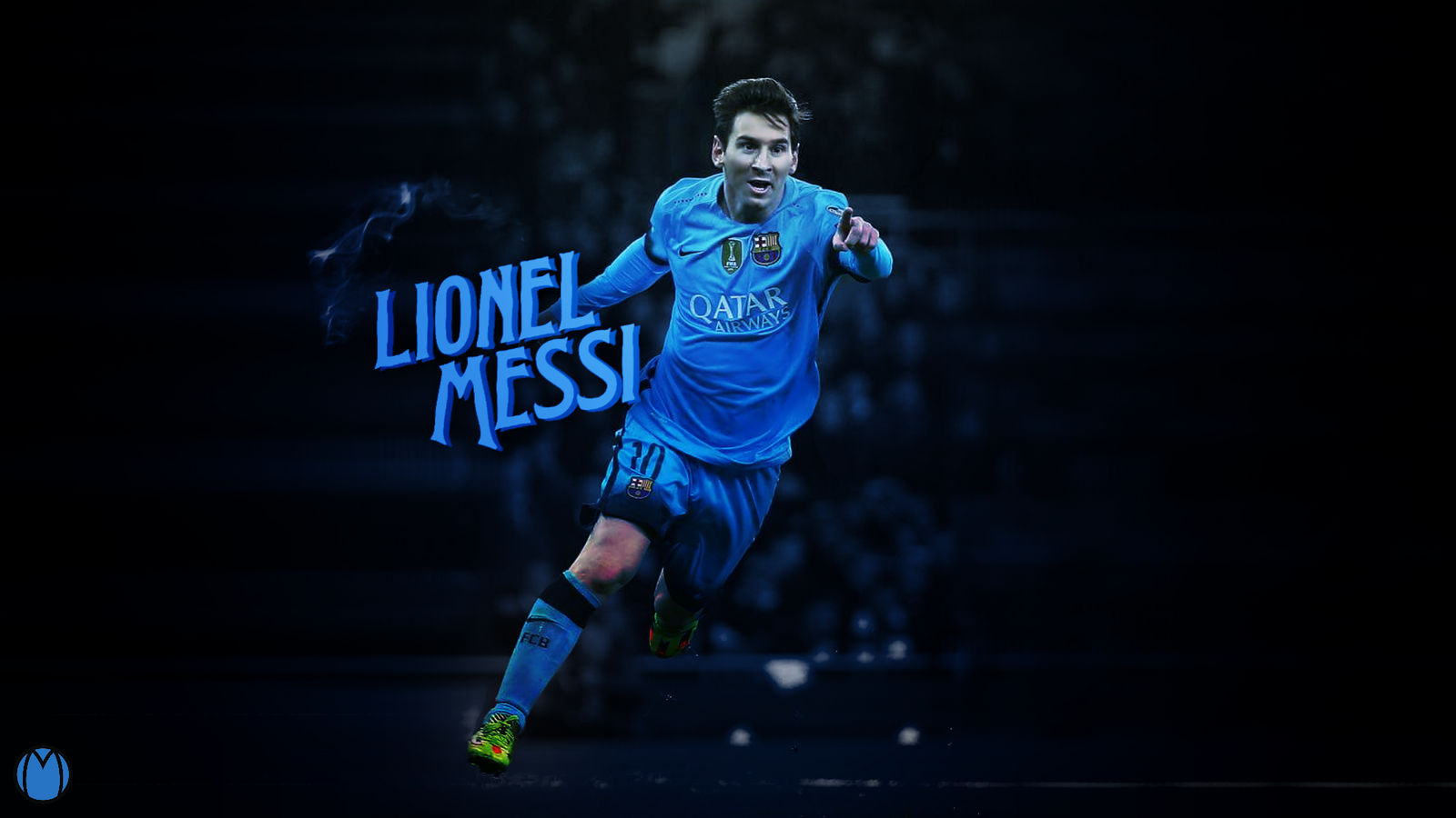 Lionel Messi 2016 Wallpaper - Design by MhmdAo on DeviantArt