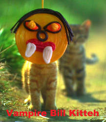 Vampire Bill Kitteh by Black-Feather