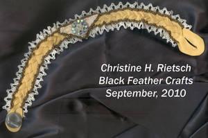 Vintage Rhinestone Choker by Black-Feather