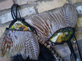 Palimino Hair and Hand Fans by Black-Feather