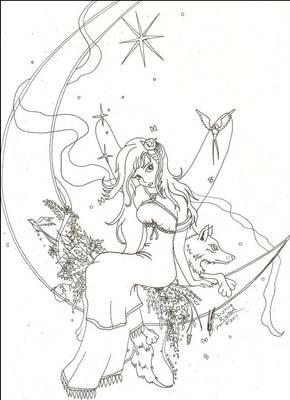 Moon Spirit Fairy