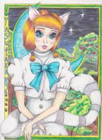 Yasutaka of Mabinogi and Her Moon by Black-Feather