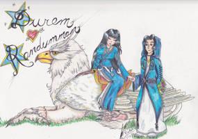Durem and Randumman from Mabinogi contest by Black-Feather