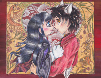 Izao and Saguro of Mabinogi by Black-Feather