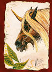 Gypsy Vanner Unicorn by Black-Feather