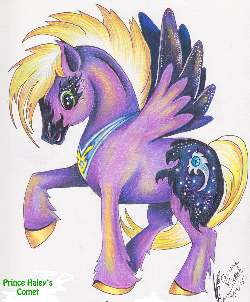 My Little Pony:  OC  Haley's Comet by Black-Feather