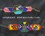 Large Peyote Bracelets