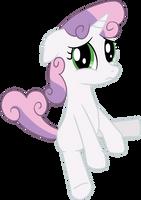 Sad Sweetie Belle by transparentpony