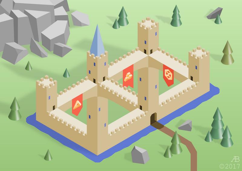 Double Castle by ankrie