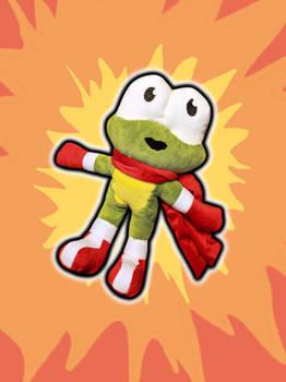 Frog Boy plush