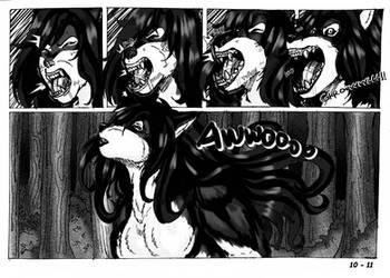 the Werewolf girl Aidon 10-11
