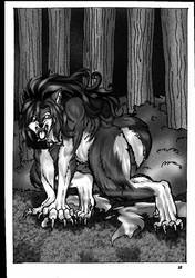 the Werewolf girl Aidon pages 12