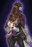 The werewolf girl Aidon #1