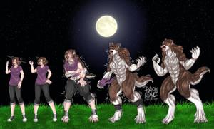 full moon TF werewolf Aidon