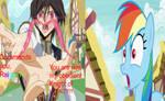Lelouch Vi Britannia Geassing Rainbow Dash