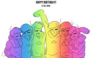Happy pine birthday by Uravit-iie
