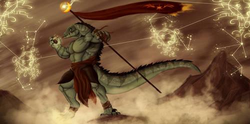 Lizard Normads of Muspelheim by Cryptos13