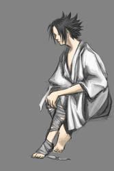 sasuke trial by SquallyeMe