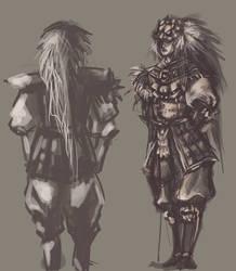 Lion Guardian Prince by SquallyeMe