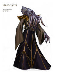 mindflayer thing by SquallyeMe
