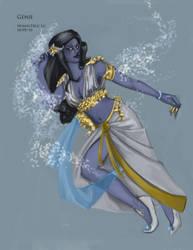 genie female by SquallyeMe