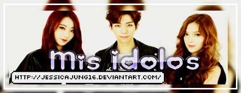 Mis Idolos 4 by JessicaJung16