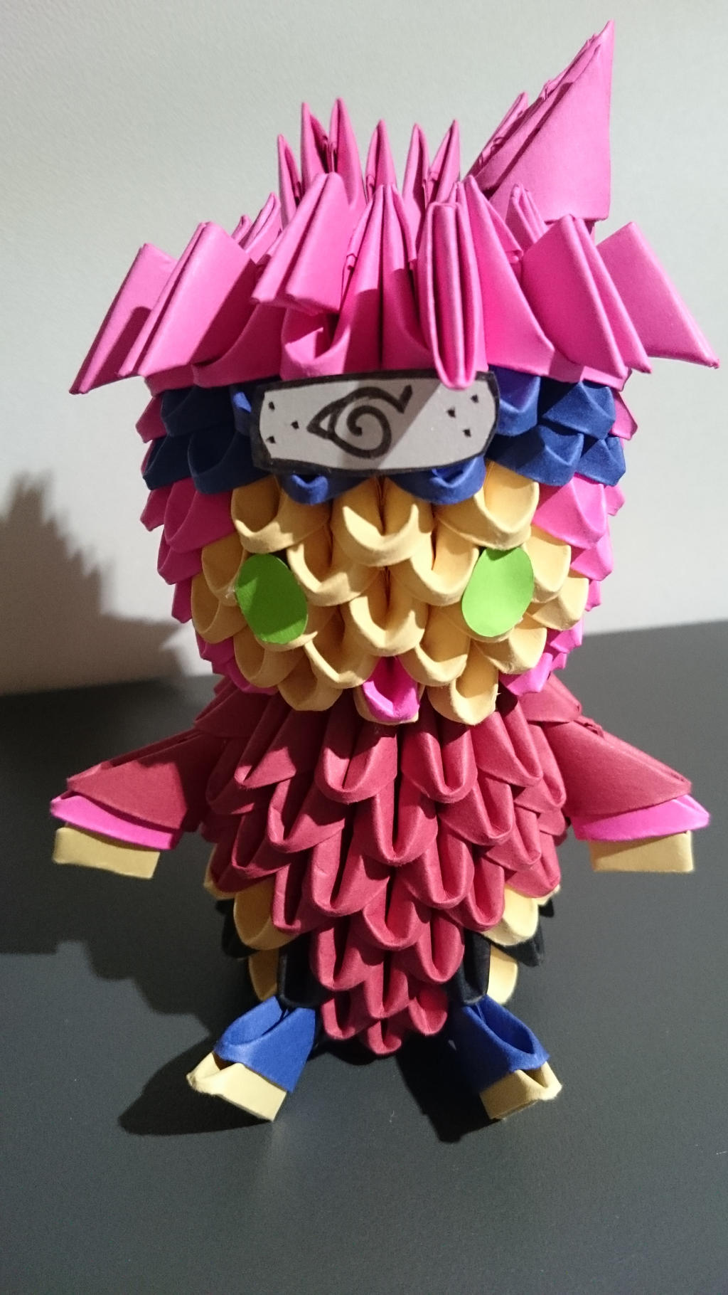 how to make a naruto origami