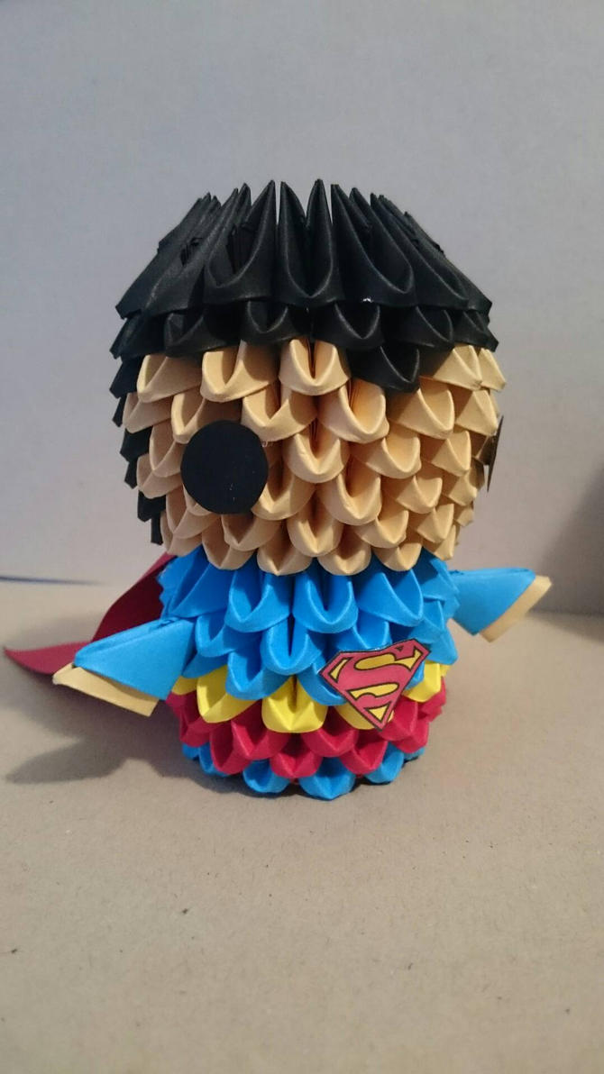 Superman origami 3d by blacktidus62 on deviantart superman origami 3d by blacktidus62 jeuxipadfo Image collections