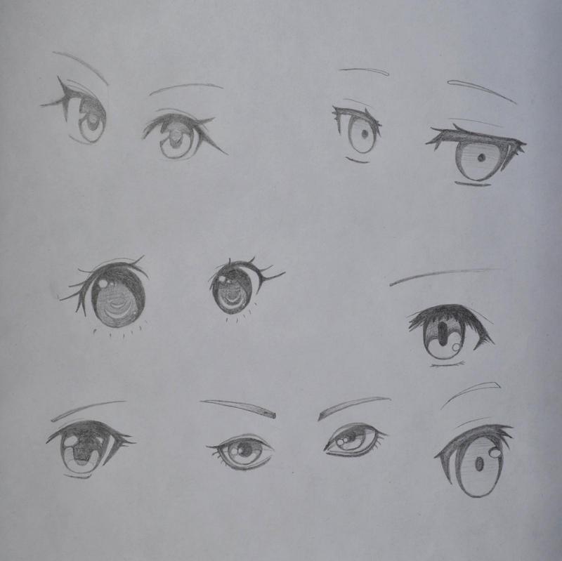 Eye Study by AdrianaBitesYou