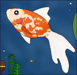 Pixel Goldfish :D by dublindub