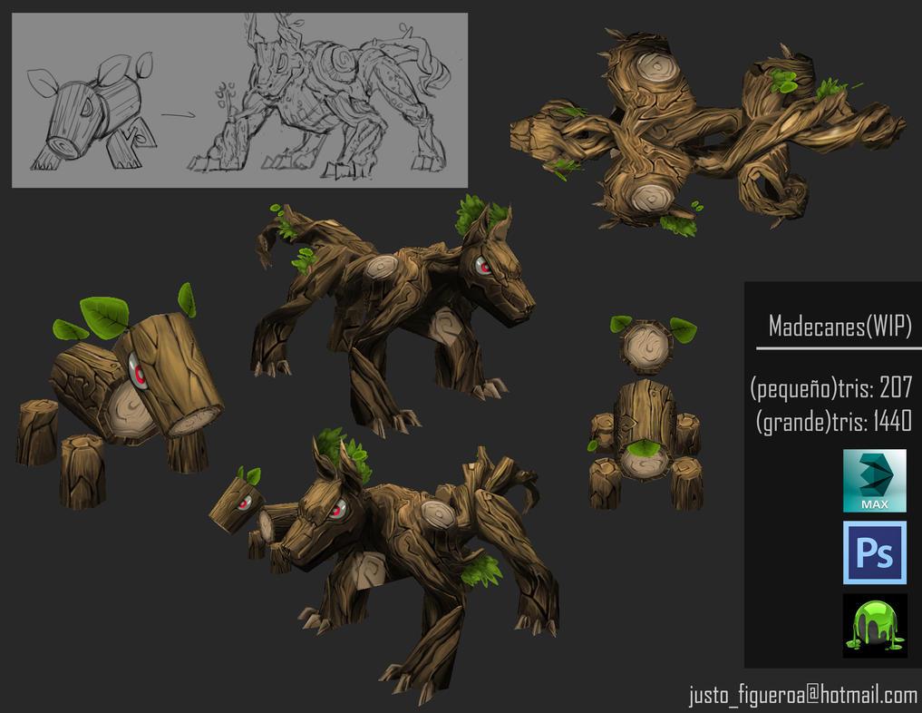 Wooddogs by l-Just-l