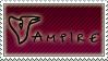 Stamp Vampire Maroon by aDarkWingedAngel