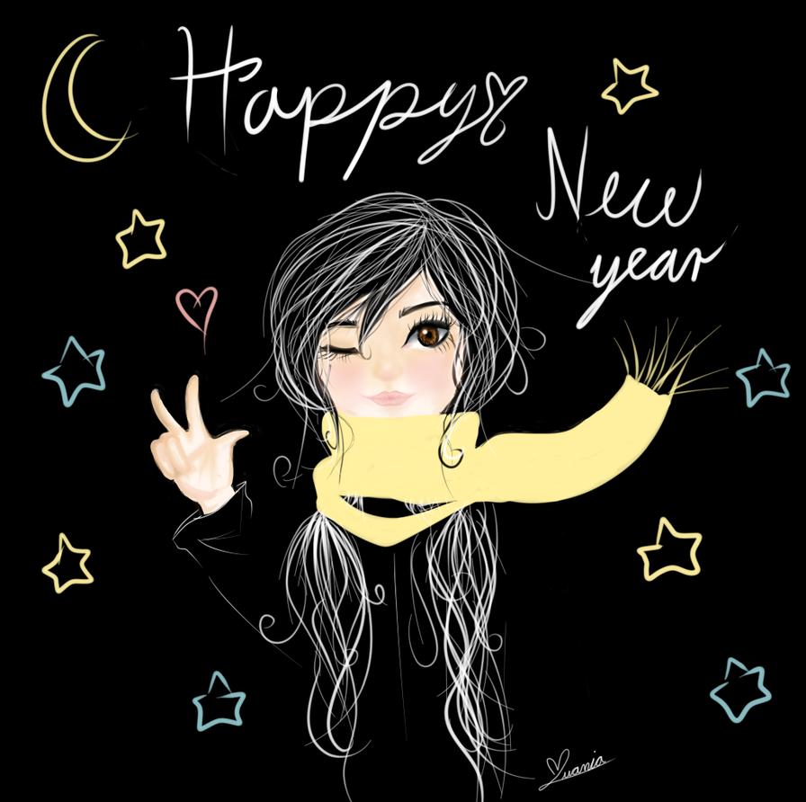 Happy new year! by iivaniia